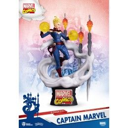 BEAST KINGDOM MARVEL COMICS D-STAGE 019 CAPTAIN MARVEL STATUE FIGURE DIORAMA
