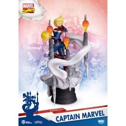 MARVEL COMICS D-STAGE 019 CAPTAIN MARVEL STATUE FIGURE DIORAMA