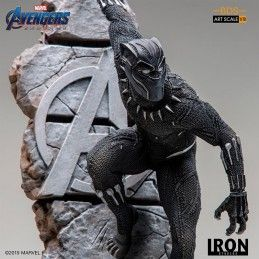 AVENGERS ENDGAME - BLACK PANTHER BDS ART SCALE 1/10 STATUE 22 CM FIGURE