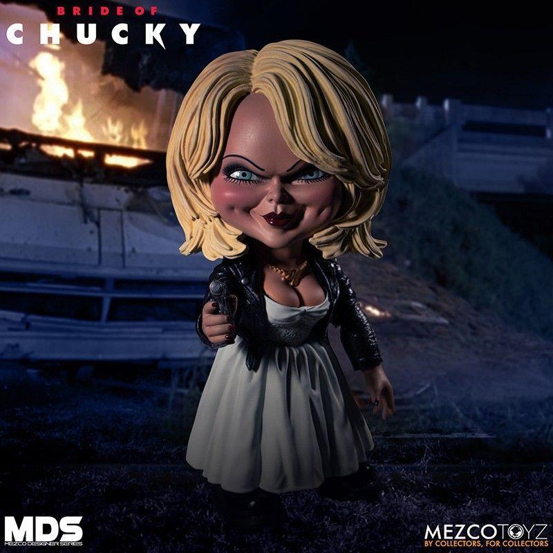 Chucky Tiffany Designer Series 15 Cm Action Figure Mezco Toys