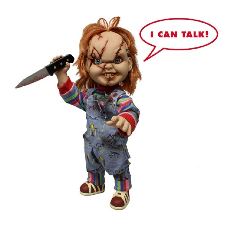 CHUCKY - CHILD PLAY CHUCKY TALKING 38 CM ACTION FIGURE PARLANTE