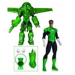 DC COMICS ICONS - GREEN LANTERN HAL JORDAN DELUXE ACTION FIGURE