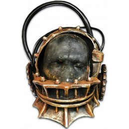 SAW L'ENIGMISTA REVERSE BEAR TRAP LATEX MASCHERA MASK
