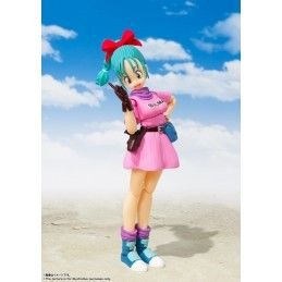 BANDAI DRAGON BALL BULMA ADVENTURE BEGINS S.H. FIGUARTS ACTION FIGURE