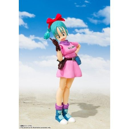 DRAGON BALL BULMA ADVENTURE BEGINS S.H. FIGUARTS ACTION FIGURE