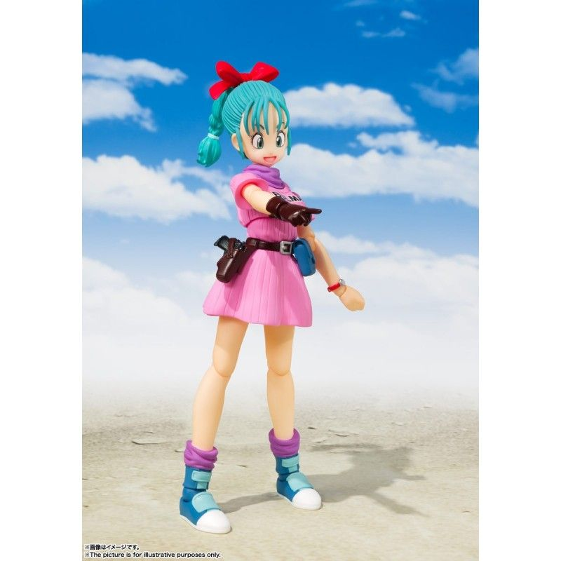 DRAGON BALL BULMA ADVENTURE BEGINS S.H. FIGUARTS ACTION FIGURE BANDAI