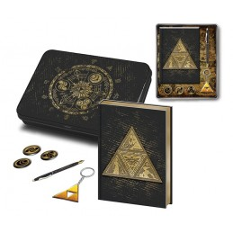 THE LEGEND OF ZELDA TRI-FORCE STATIONERY SET GIFT BOX