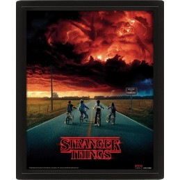 STRANGER THINGS MIND FLAYER LENTICULAR 3D POSTER 25X20CM