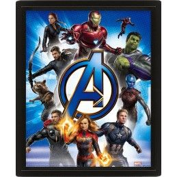MARVEL AVENGERS ENDGAME LENTICULAR 3D POSTER 25X20CM PYRAMID INTERNATIONAL