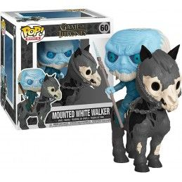 FUNKO FUNKO POP! GAME OF THRONES - MOUNTED WHITE WALKER BOBBLE HEAD KNOCKER FIGURE