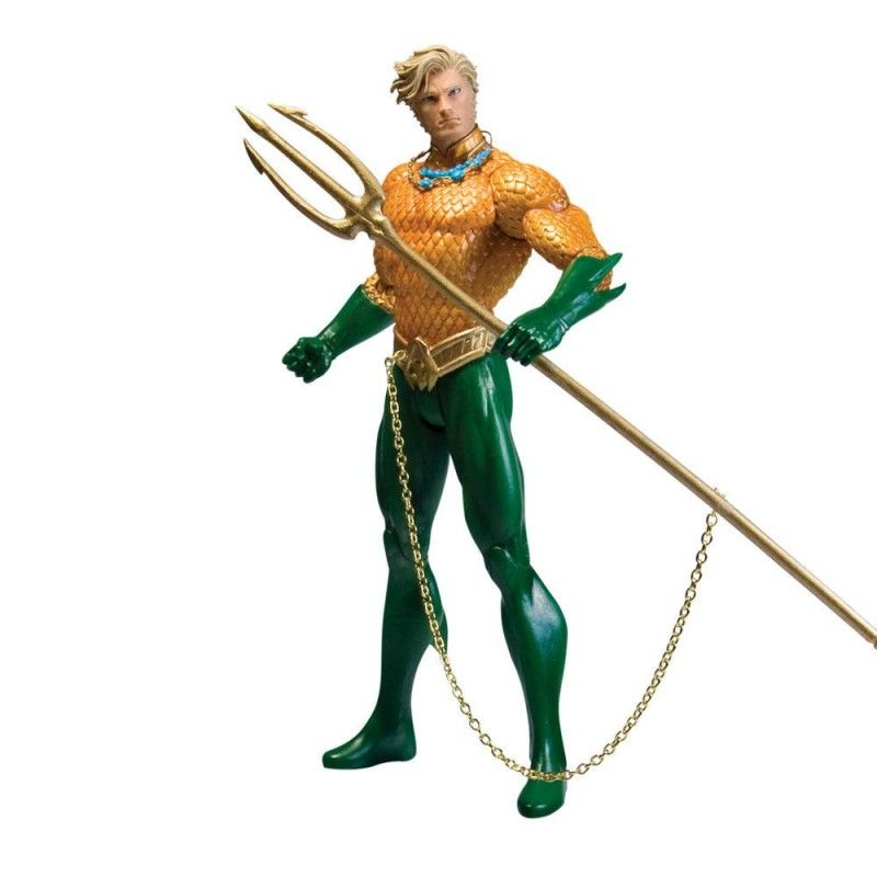 DC COMICS JUSTICE LEAGUE THE NEW 52 AQUAMAN ACTION FIGURE DC COLLECTIBLES