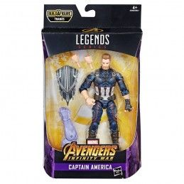 HASBRO MARVEL LEGENDS SERIES AVENGERS THANOS - CAPTAIN AMERICA ACTION FIGURE