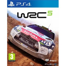 WORLD RALLY CHAMPIONSHIP WRC 5 PS4 NUOVO ITALIANO