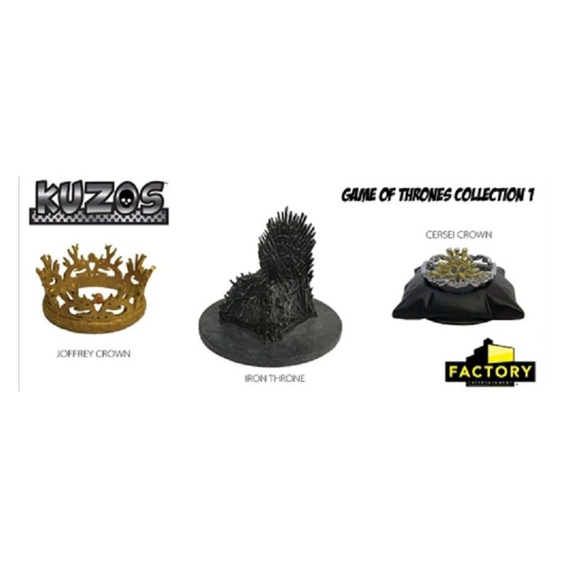 KUZOS GAME OF THRONES COLLECTION REPLICA METAL SET 5CM FACTORY ENTERTAINMENT