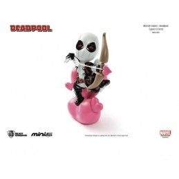BEAST KINGDOM MARVEL COMICS DEADPOOL CUPID X FORCE MINI EGG ATTACK FIGURE