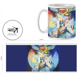 DAITARN 3 PAINT POSTER CERAMIC MUG TAZZA IN CERAMICA INFINITE STATUE