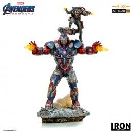 AVENGERS ENDGAME - IRON PATRIOT AND ROCKET BDS ART SCALE 1/10 STATUE FIGURE IRON STUDIOS