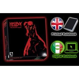 HELLBOY: THE BOARD GAME GIOCO DA TAVOLO INGLESE