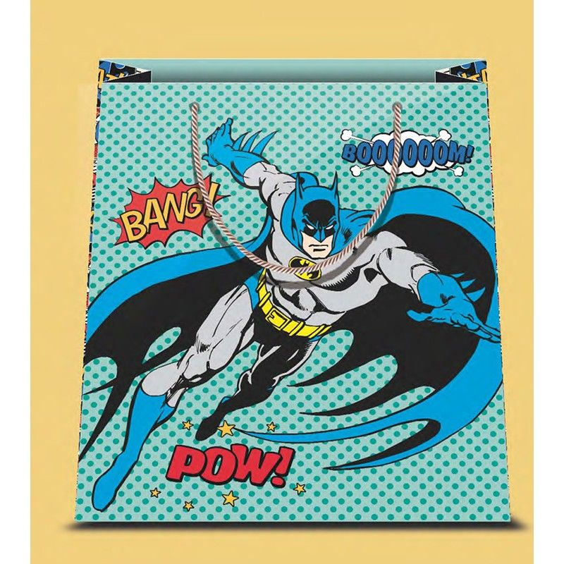 BATMAN COMIC SHOPPER BAG BORSA DI CARTA MARPIMAR