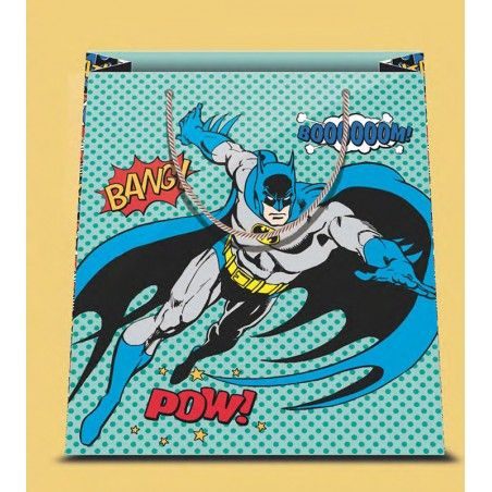 BATMAN COMIC SHOPPER BAG BORSA DI CARTA