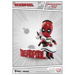 MARVEL DEADPOOL MAID OUTFIT MINI EGG ATTACK FIGURE