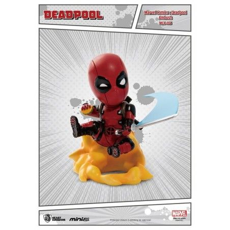 MARVEL COMICS DEADPOOL AMBUSH MINI EGG ATTACK FIGURE