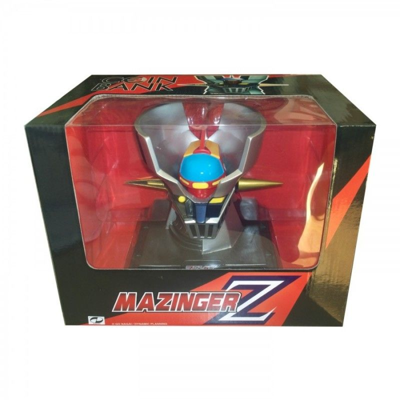 HIGH DREAM MAZINGER Z HEAD COIN BANK SALVADANAIO