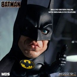 MEZCO DESIGNER SERIES BATMAN 1989 DLX ACTION FIGURE MEZCO TOYS