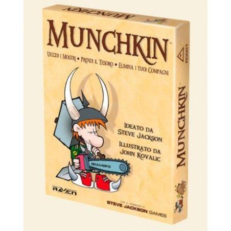 MUNCHKIN - EDIZIONE ITALIANA - GIOCO DA TAVOLO IN ITALIANO