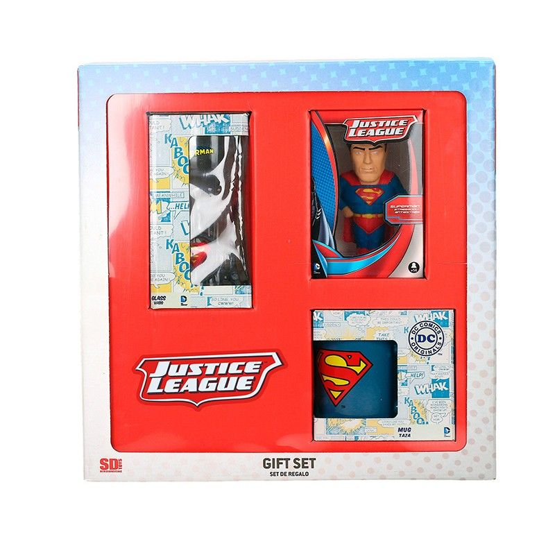 SD TOYS DC UNIVERSE SUPERMAN GIFT BOX PACCO REGALO
