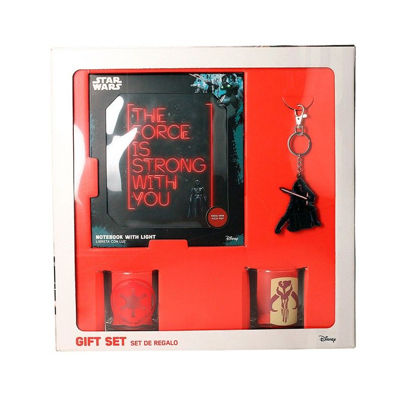 STAR WARS GIFT BOX PACCO REGALO SD TOYS