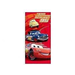 DISNEY CARS SAETTA MCQUEEN TEAM BEACH BATH TOWEL TELO DA MARE 140X70CM