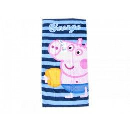 PEPPA PIG GEORGE BEACH BATH TOWEL TELO DA MARE 140X70CM