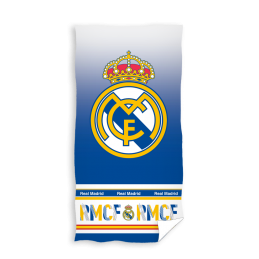 REAL MADRID RMCF BEACH BATH TOWEL TELO DA MARE