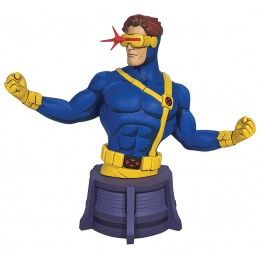 MARVEL ANIMATED - X-MEN CYCLOPS BUST 16CM STATUE FIGURE DIAMOND SELECT