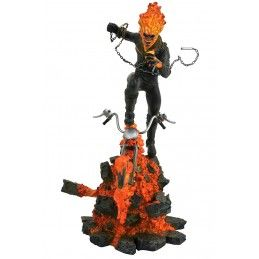 MARVEL MILESTONES - GHOST RIDER 39CM RESIN STATUE FIGURE DIAMOND SELECT