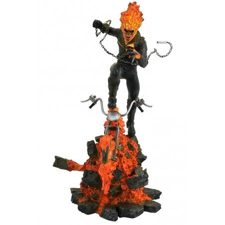 MARVEL MILESTONES - GHOST RIDER 39CM RESIN STATUE FIGURE