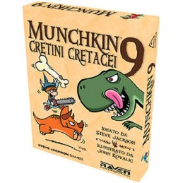 MUNCHKIN 9 CRETINI CRETACEI...