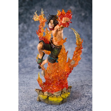ONE PIECE ZERO PORTGAS D ACE COMM 2ND DIV FIGUARTS ZERO FIGURE