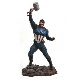 DIAMOND SELECT MARVEL GALLERY AVENGERS ENDGAME CAPTAIN AMERICA STATUE 25CM FIGURE