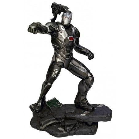 MARVEL GALLERY AVENGERS ENDGAME WAR MACHINE STATUE 25CM FIGURE