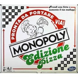 MONOPOLY PIZZA - GIOCO DA TAVOLO ITALIANO HASBRO
