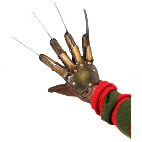 NIGHTMARE DREAM WARRIORS GUANTO FREDDY KRUEGER GLOVE REPLICA
