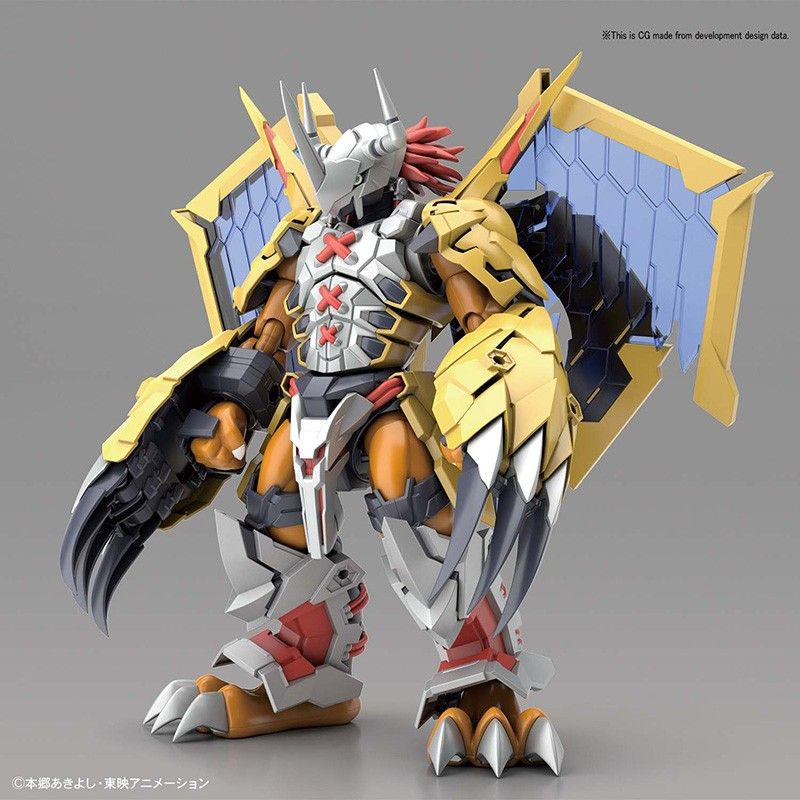 DIGIMON FIGURE RISE WARGREYMON AMPLIFIED MODEL KIT FIGURE BANDAI