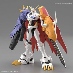 BANDAI DIGIMON FIGURE RISE OMEGAMON AMPLIFIED MODEL KIT FIGURE