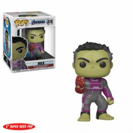FUNKO POP! MARVEL AVENGERS ENDGAME SUPERSIZED HULK BOBBLE HEAD KNOCKER FIGURE