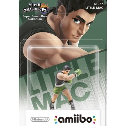 NINTENDO WII U WIIU AMIIBO NO. 16 LITTLE MAC