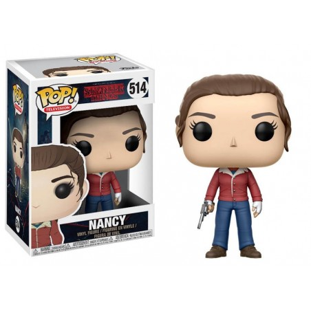 FUNKO POP! STRANGER THINGS NANCY BOBBLE HEAD KNOCKER FIGURE