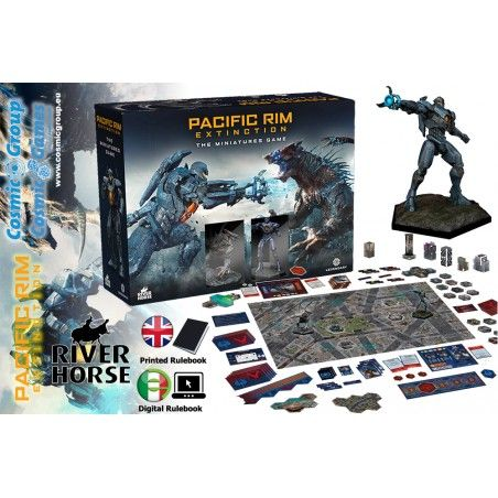 PACIFIC RIM EXTINCTION THE MINIATURES GAME GIOCO DA TAVOLO