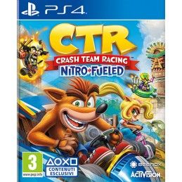CRASH TEAM RACING NITRO FUELED PLAYSTATION 4 PS4 NUOVO ITALIANO